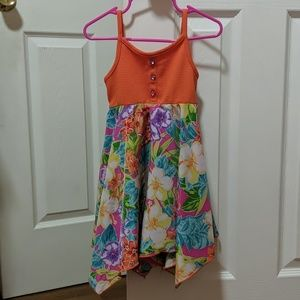 Youngland toddler girl handkerchief dress size 3T